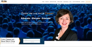 April Garcia's PivotMe homepage screenshot
